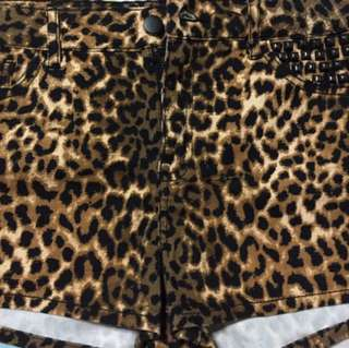 Forever 21 Tiger Print Shorts