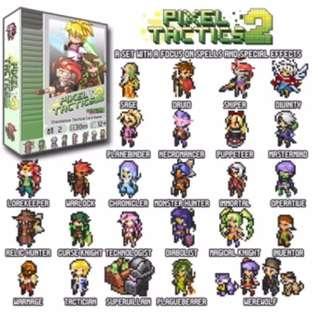 Pixel Tactics 2 Card Game