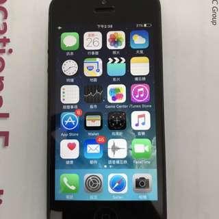 黑色行貨iPhone5 16G
