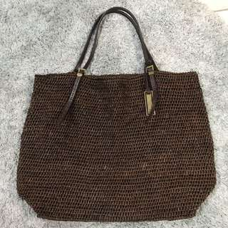 MK Straw Bag