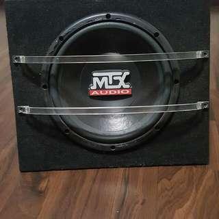 "10"" MTX Subwoofer Good Condition"
