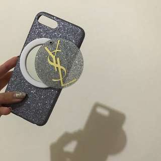 iPhone 7 Plus 手機殼(ysl 鏡面)