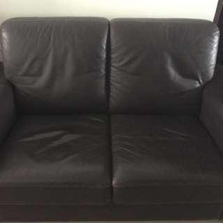 Genuine leather 2 Seater Sofa