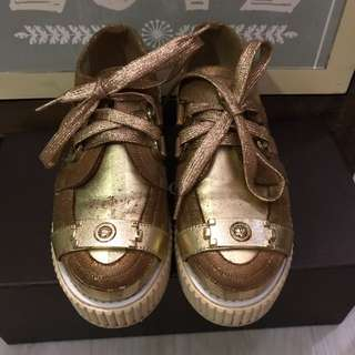 Chanel Lame Boy Creepers
