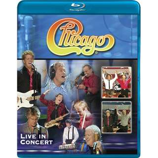 Chicago Live in Concert (blu-ray, US, Region Free)