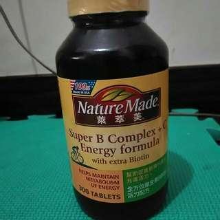Nature Made Vitamin B-complex plus C 萊萃美 B群加C