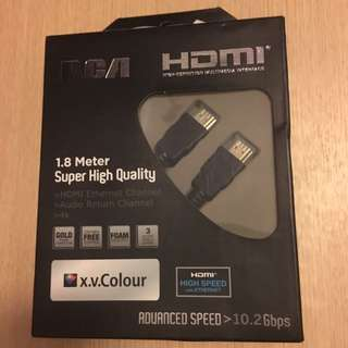 HDMI with Ethernet cable