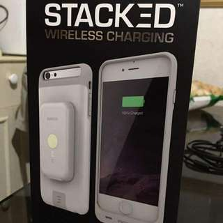 Rush Sale!!!   Authentic and Brandnew  STACKED Wireless Charging for Iphone 6s plus