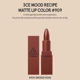 STYLENANDA 3CE Mood Recipe Lipstick #906 Smoked Rose