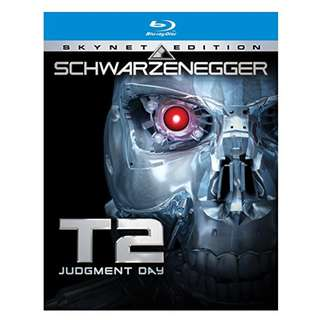 Terminator 2: Judgment Day (blu-ray, US, Region A)