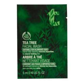 🚚 The Body Shop 茶樹淨化潔面膠5ml