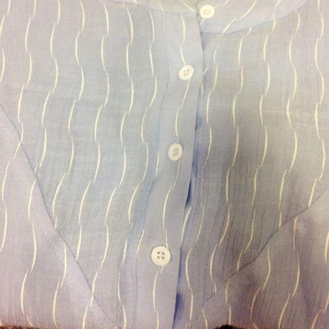條紋棉麻上衣(不含運)