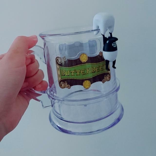 奶油啤酒杯