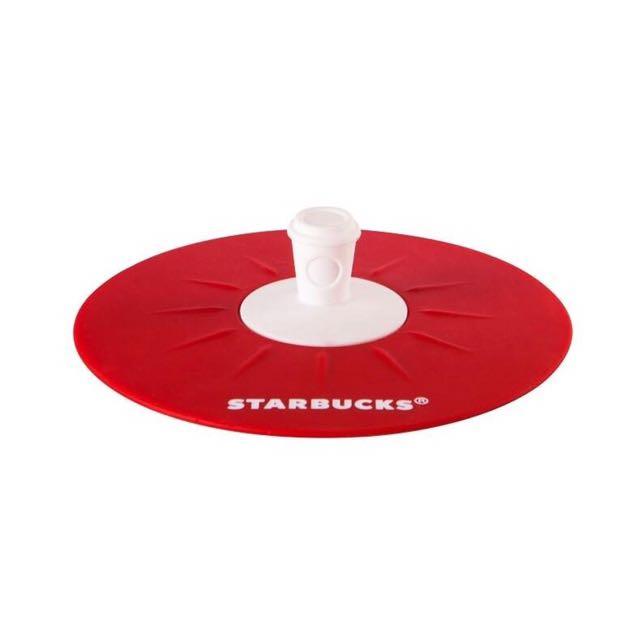 全新 starbucls 星巴克紅外帶杯造型矽膠杯蓋 杯蓋 杯墊