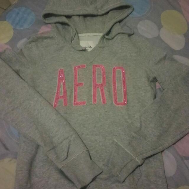 aero jacket  color gray small