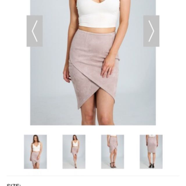Ally Pastel Pink Skirt