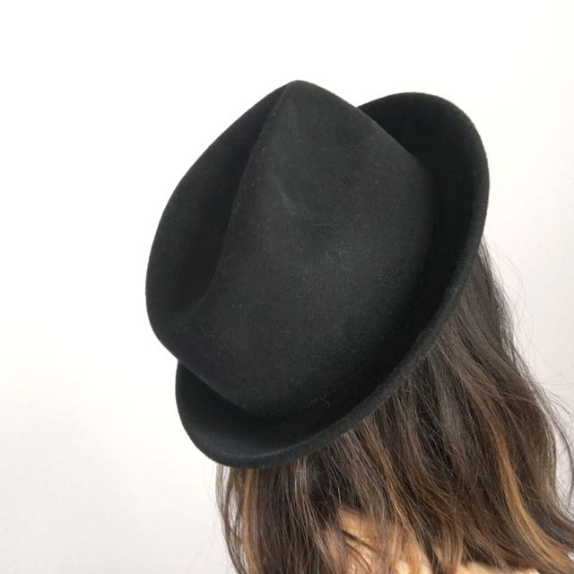 Asos Black Fedora Hat