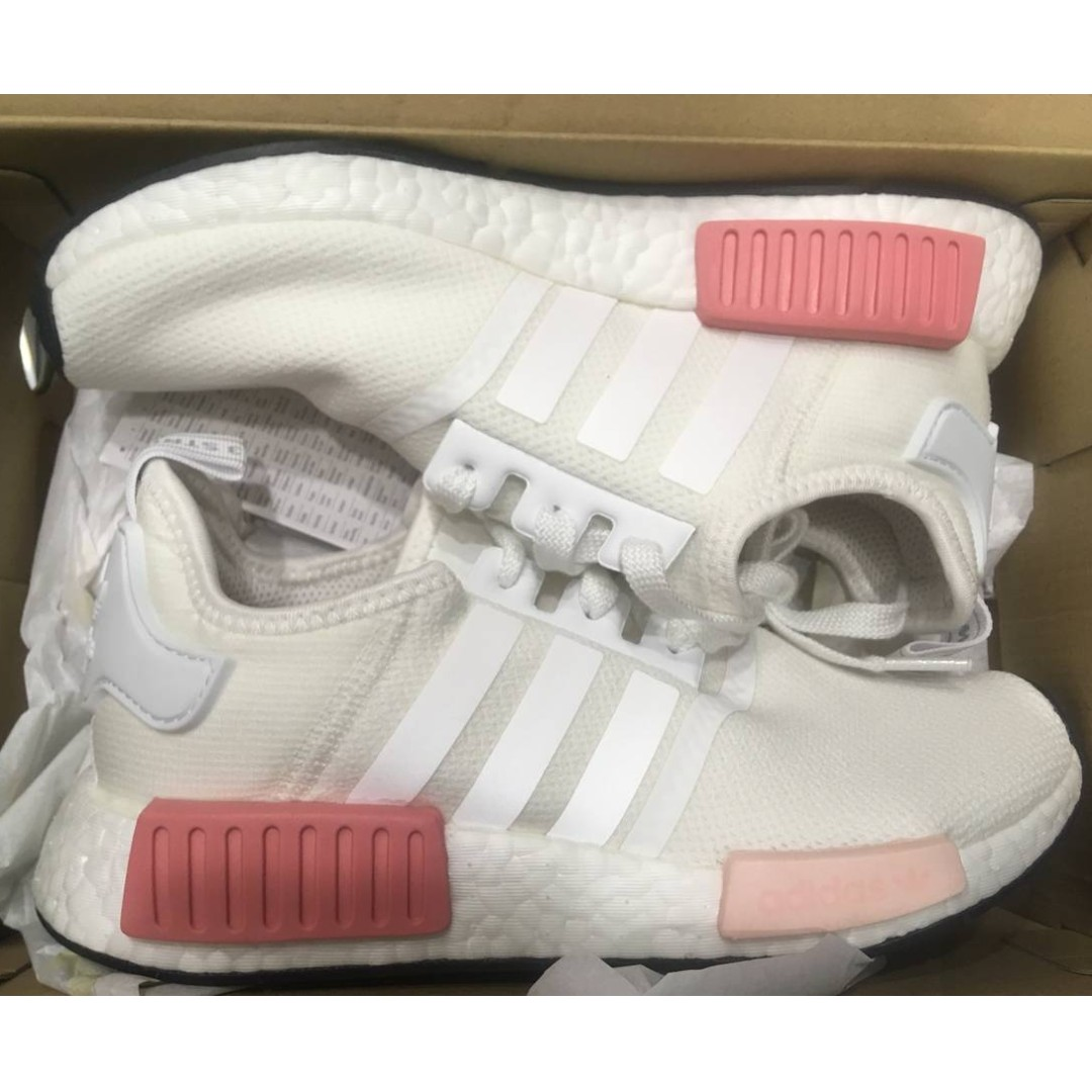 d00246261 ... authentic adidas nmd r1 white icy pink by9952 size uk 7 us 8.5 (accept  trade