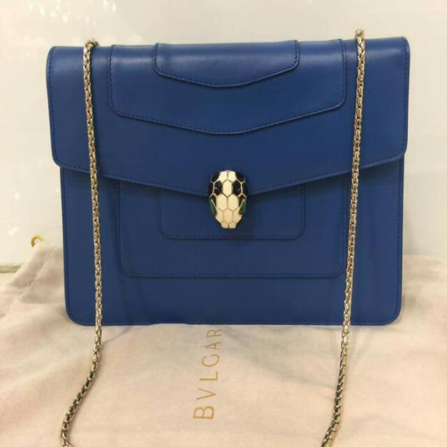 authentic bulgari shoulder bag