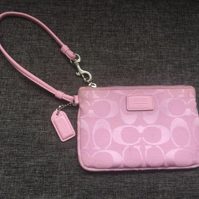 Authentic Coach Wristlet & Bag - BOTH for $20
