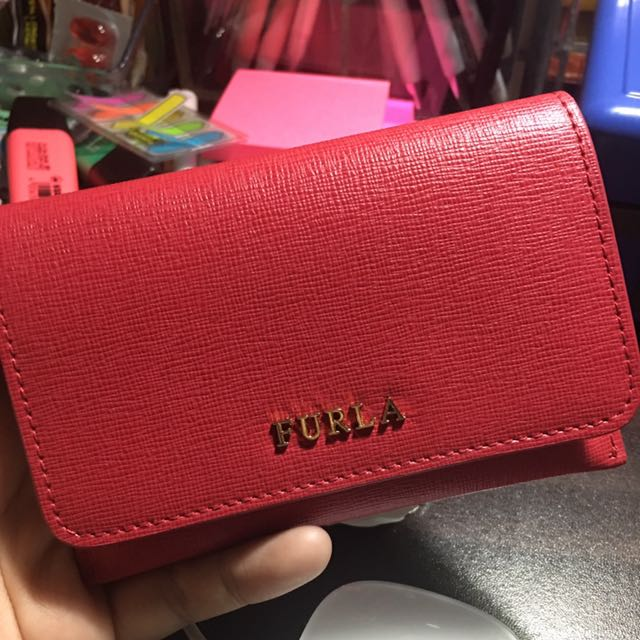 Authentic Furla Wallet/Card Case