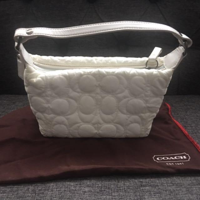 Authentic Mini Coach Bag + Wristlet $20