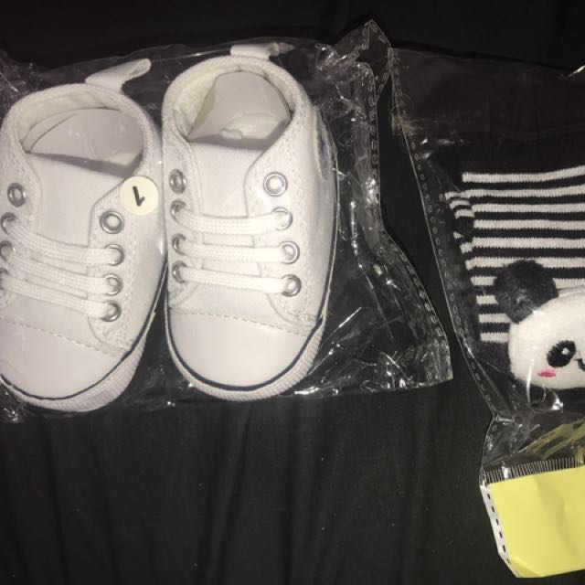 Baby Boys Brand New Shoes And Socks