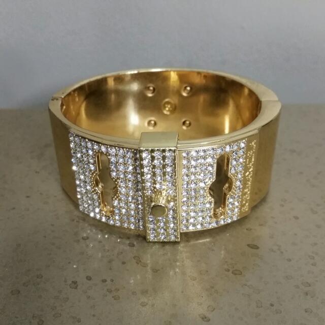 BCBG Gold Bracelet cuff
