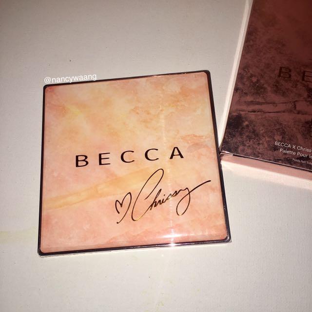 Becca X Chrissy Teigen Face Glow Palette