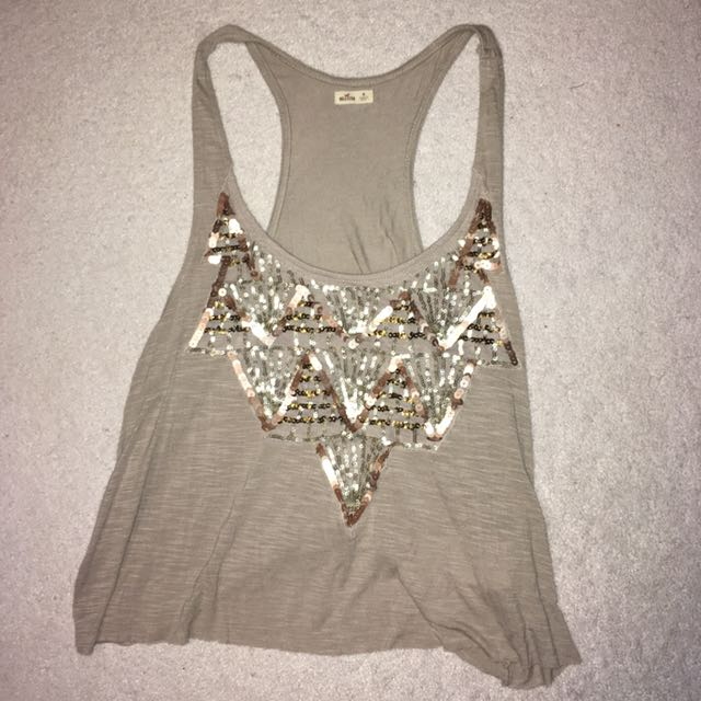 Hollister Sequin Tank
