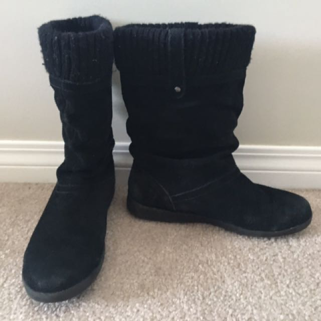 Black Cougar Winter Boots
