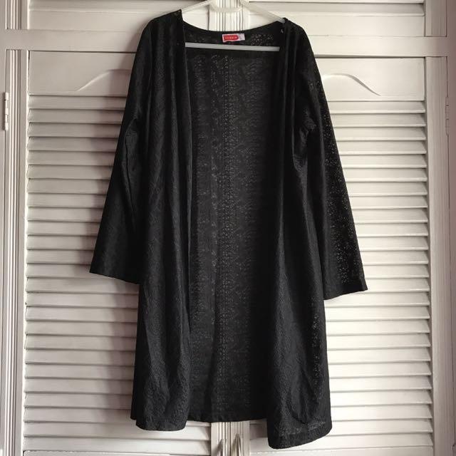 Black Laced cardigan