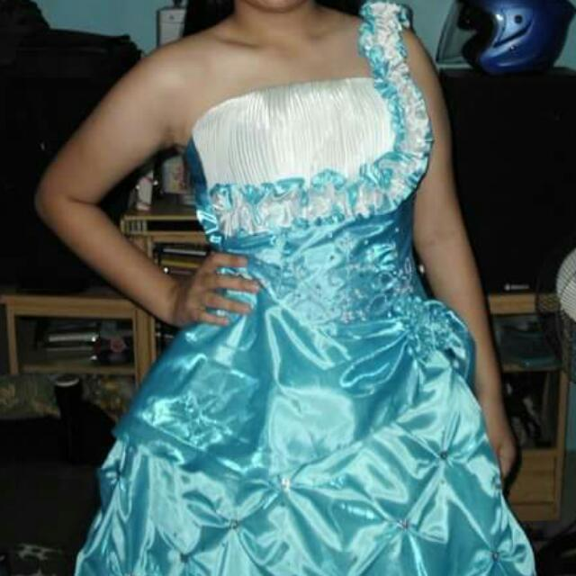 Blue Ball Gown buy or rent