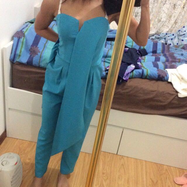 Blue Playsuit