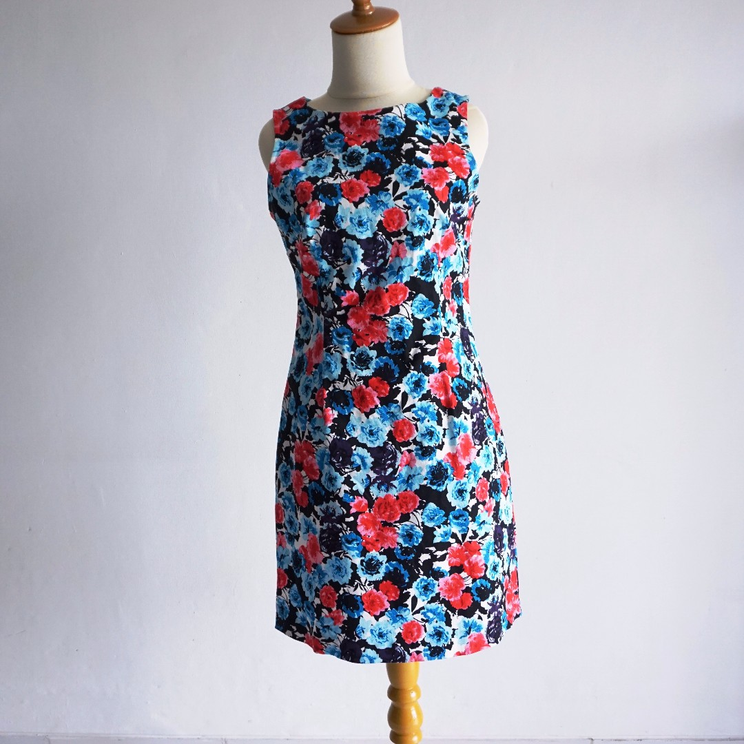 Body Fit Dress -  Floral