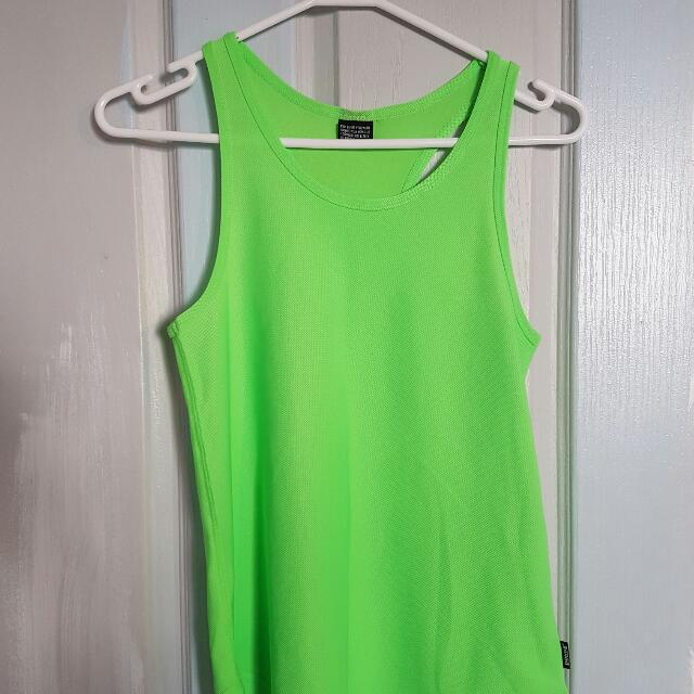 Bonds Green Workout Tank