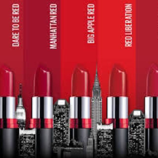 8eac18bf0 BRAND NEW Maybelline Color Show Big Apple Red Creamy Matte Lipstick ...