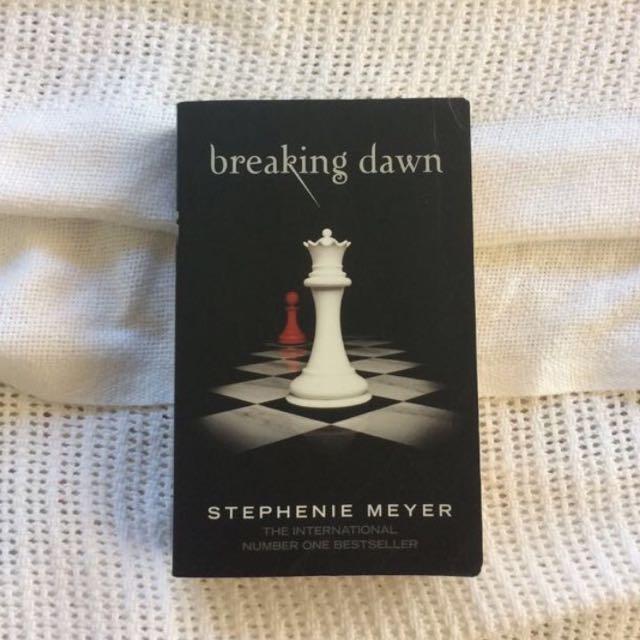 Breaking Dawn by Stephanie Myer