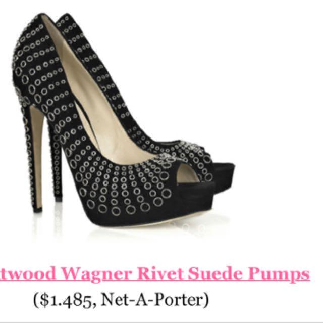 Brian Atwood rivet heels