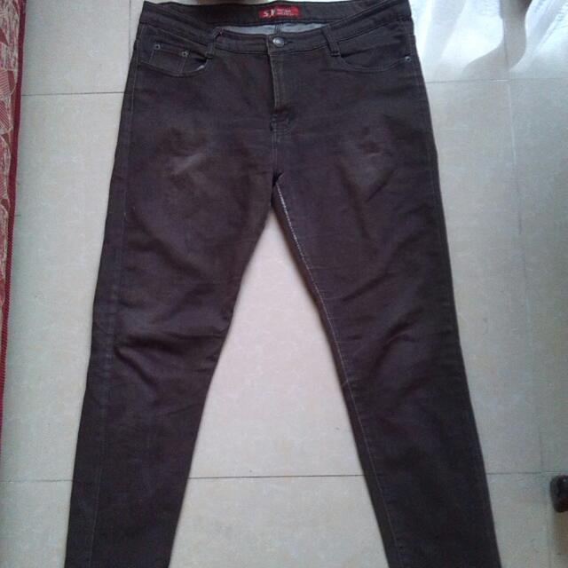 Brown Maong Pants