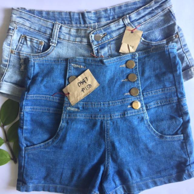 Bundle 1: Denim Shorts