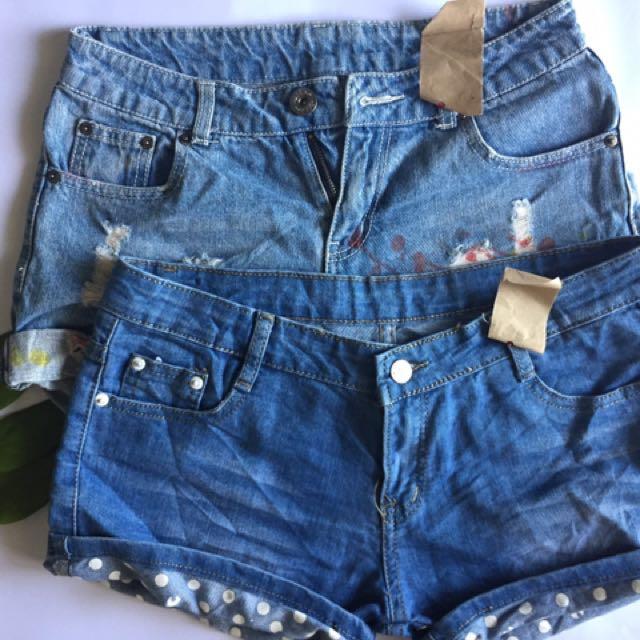 Bundle 3: Denim Shorts