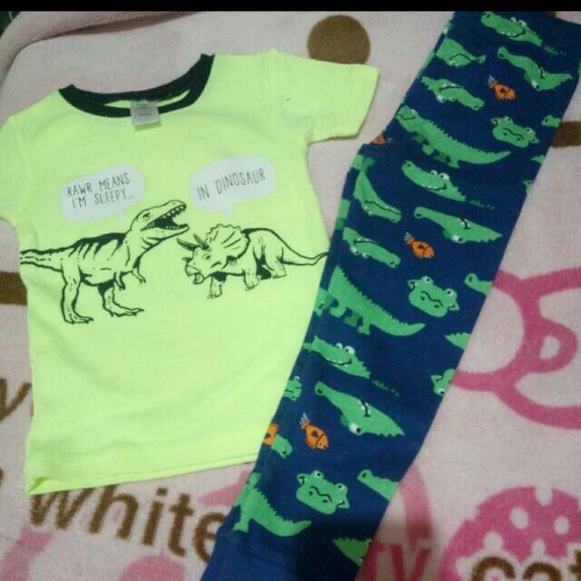 Carters Shirt And Pajama.