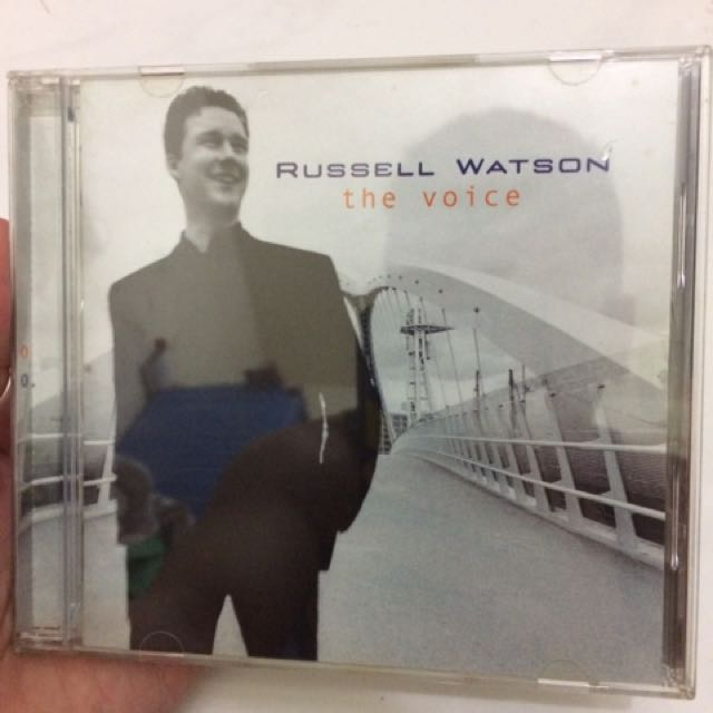 CD Album Musik Lagu Barat Original - Russel Watson - The Voice