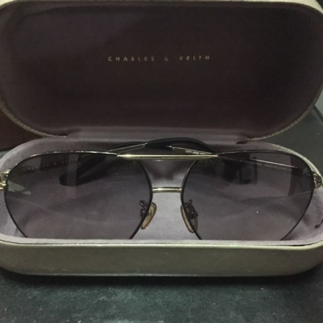 CHARLES & KEITH SHADES W/ CASE (Plus Mango Sunglass Case)