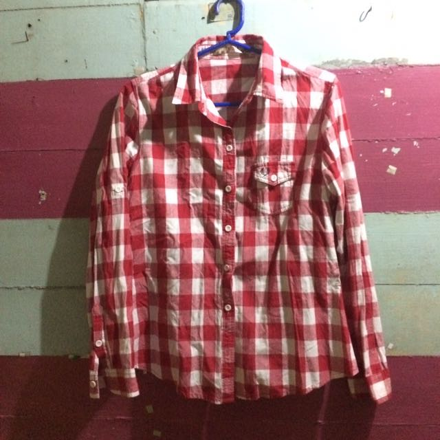 CHECKERED BUTTON-DOWN (LARGE)