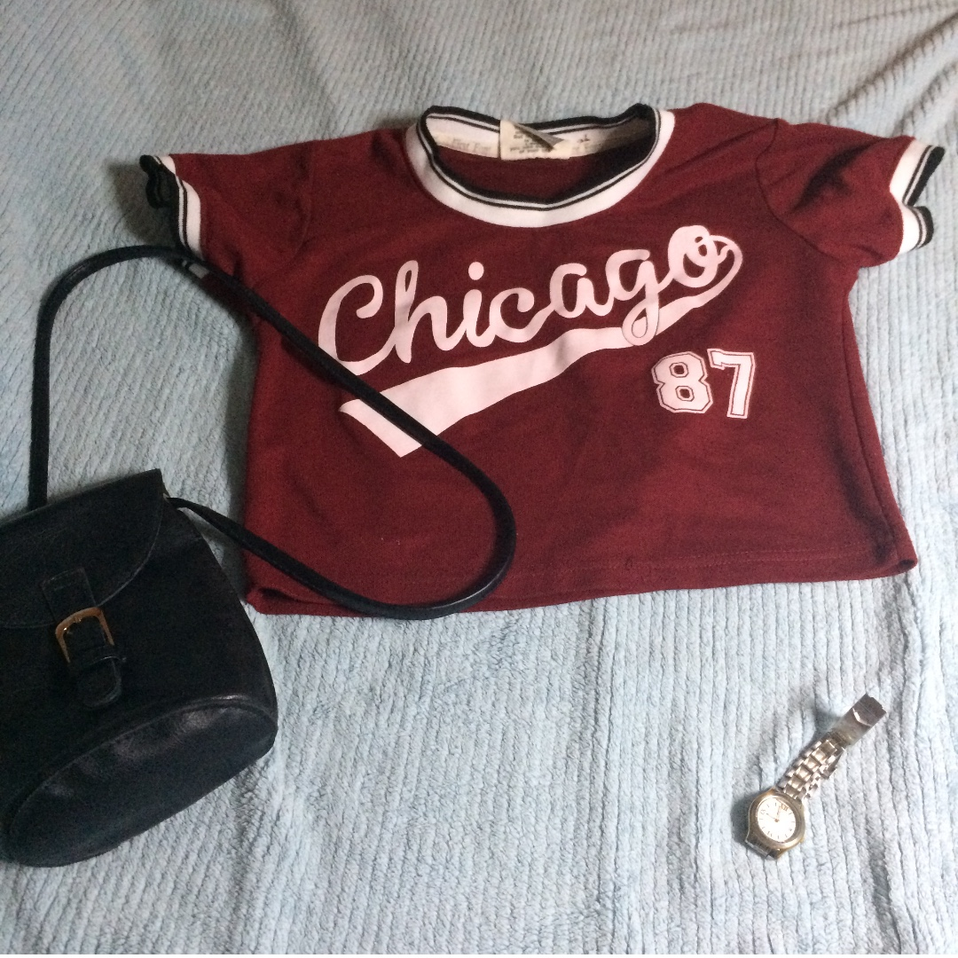chicago crop top