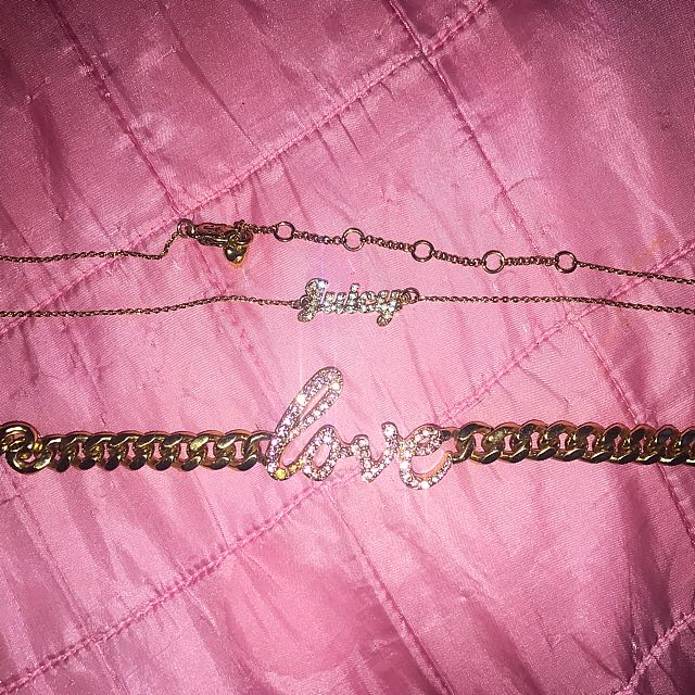 Coach Love Bracelet And Juicy Couture Necklace