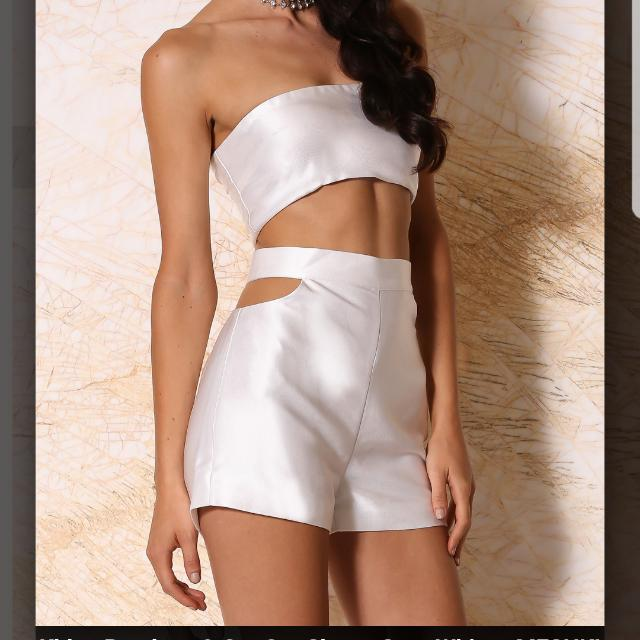 Co-ord Set  (Crop And Shorts)