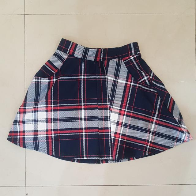 Cotton On Plaid Skirt